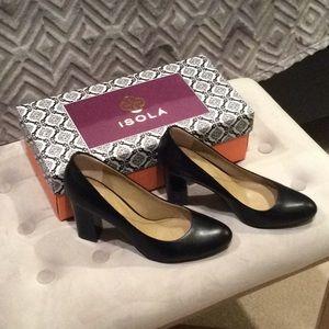 Isola Black Shoes (Pumps)